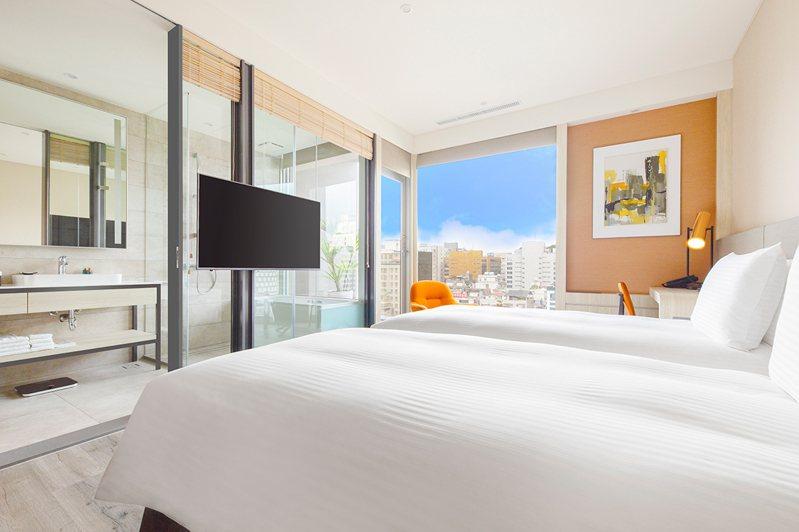 美侖商旅推出「美刮必中」住房專案。圖/美侖商旅提供