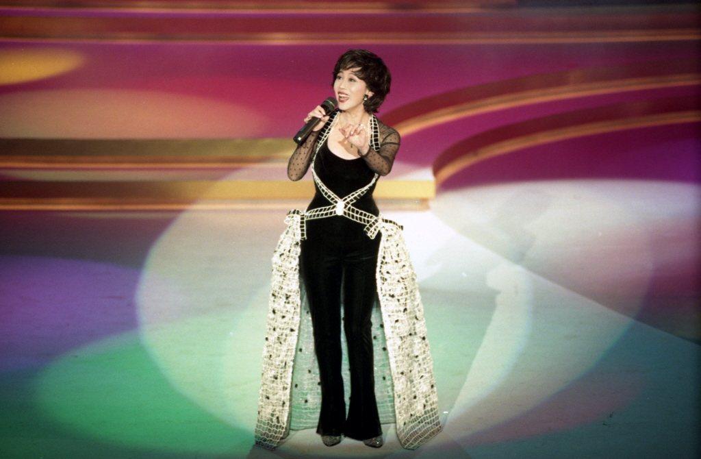 姚蘇蓉在第30屆金馬獎頒獎典禮的演出,令人懷念。圖/報系資料照片