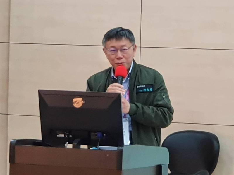 台北市長柯文哲說,這次只騎300公里。本報資料照片