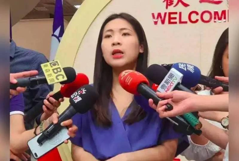 國民黨台北市議員徐巧芯。 報系資料照