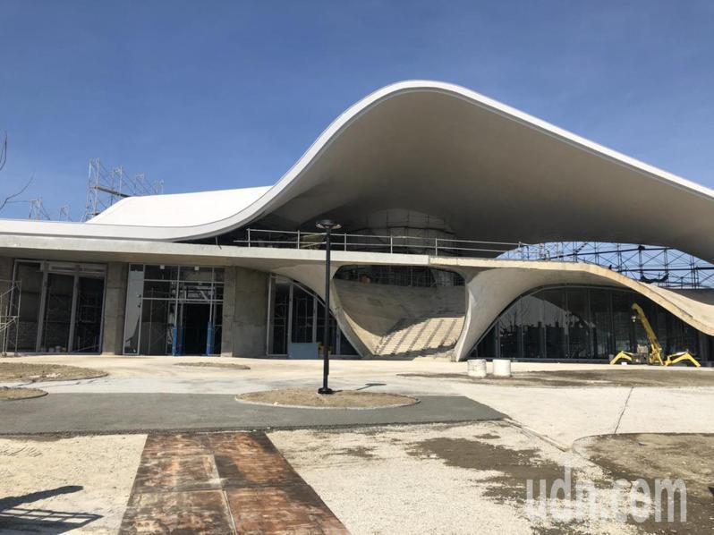 永安海螺文化體驗園區結合在地特有的牽罟、吹海螺及石塭捕魚等客家傳統捕魚文化特色,打造海螺館。記者高宇震/攝影