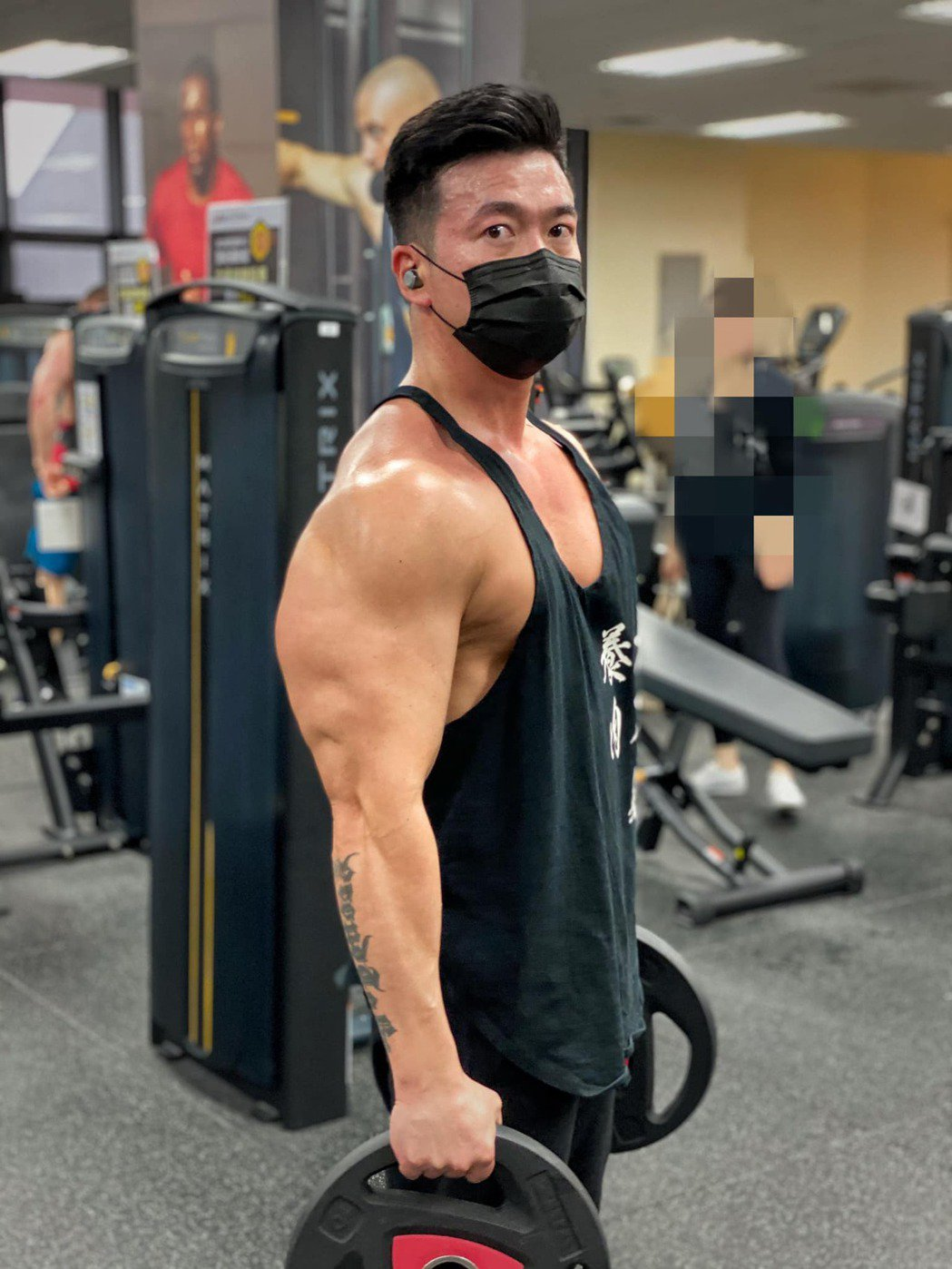 李沛旭已是健體達人。圖/摘自臉書