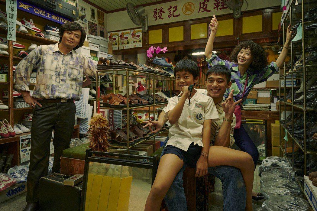 「天橋上的魔術師」還原80年代中華商場景象。圖/公視、myVideo提供