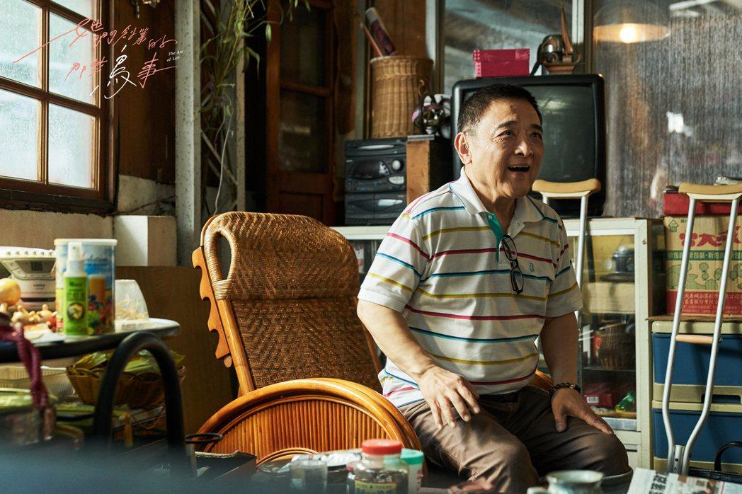 小亮哥在「她們創業的那些鳥事」劇中飾演邱澤的父親。圖/可米傳媒提供