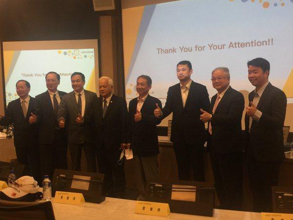 台北經營院理研究院20日邀請剛選出的傑出台商代表,舉辦「2021商機創造與台商布...