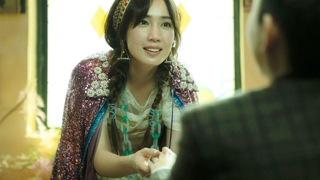 小薰在「揭大歡喜」演出塔羅牌仙女,造型美麗。圖/海鵬提供