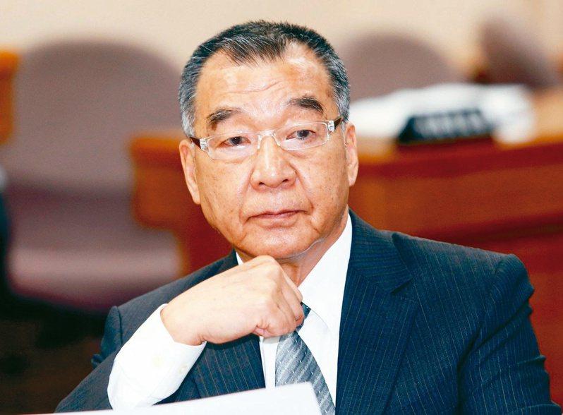 新任國防部長邱國正。本報資料照片