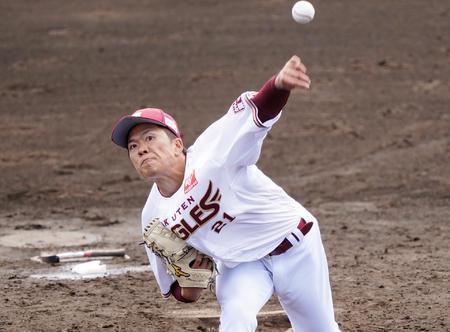 大物新秀早川隆久表現搶眼,最快球速來到150公里,合計2局奪3次三振,表現力壓大前輩。  翻攝自推特るぱん | 鷲党の情報担当