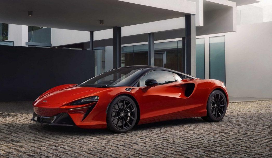 McLaren Artura是品牌首輛V6油電的車款。 圖/McLaren提供