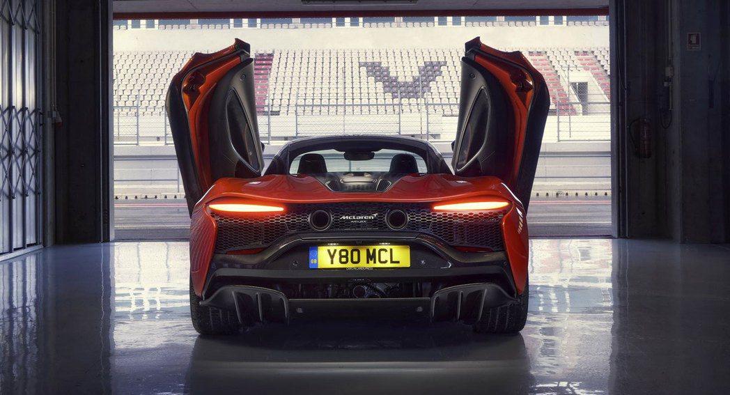 McLaren Artura。 圖/McLaren提供
