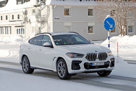 BMW X6小改款測試車曝光 竟出現iX的配備?