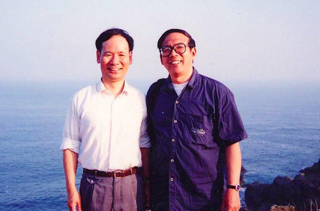 鮑元愷與台灣音樂家黃輔棠(左)為知心好友,兩人交情逾30年。 圖/海鵬影業提供