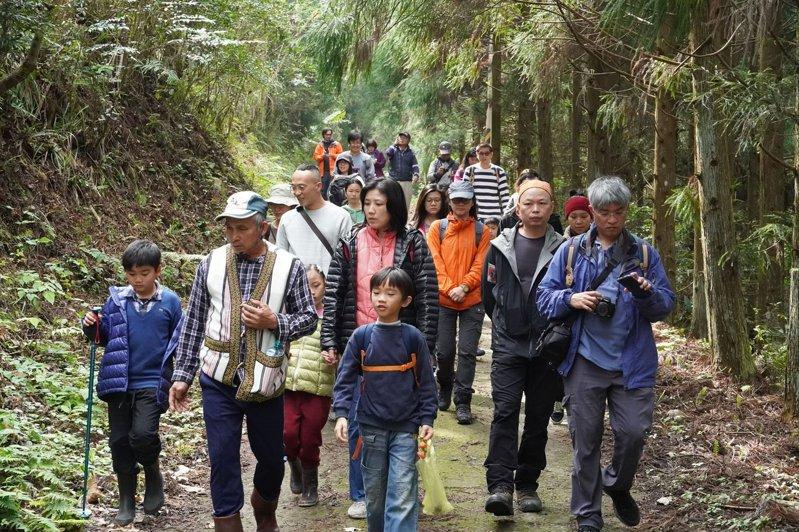 活動將邀請泰雅族耆老帶領民眾漫步於白蘭溪古道。圖/圈谷資訊股份有限公司提供