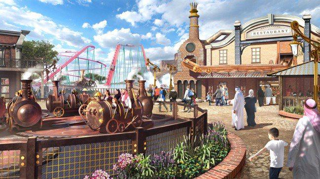 沙國主題樂園「六旗奇地亞」(Six Flags Qiddiya)預計2023年完...