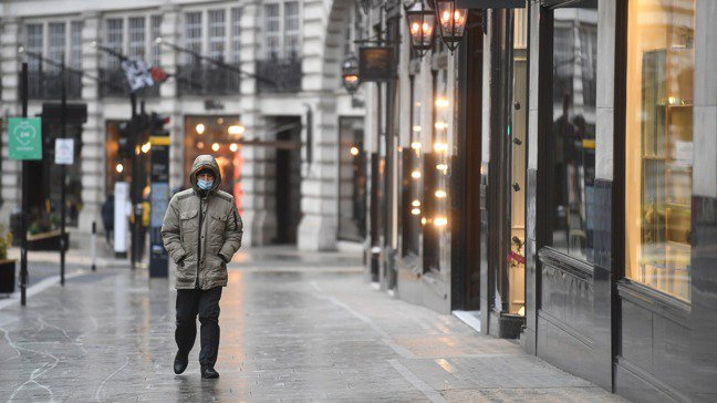 倫敦市內重要購物區牛津街上的店家,每五家就有一家因為這次新冠疫情的打擊,復甦無望...