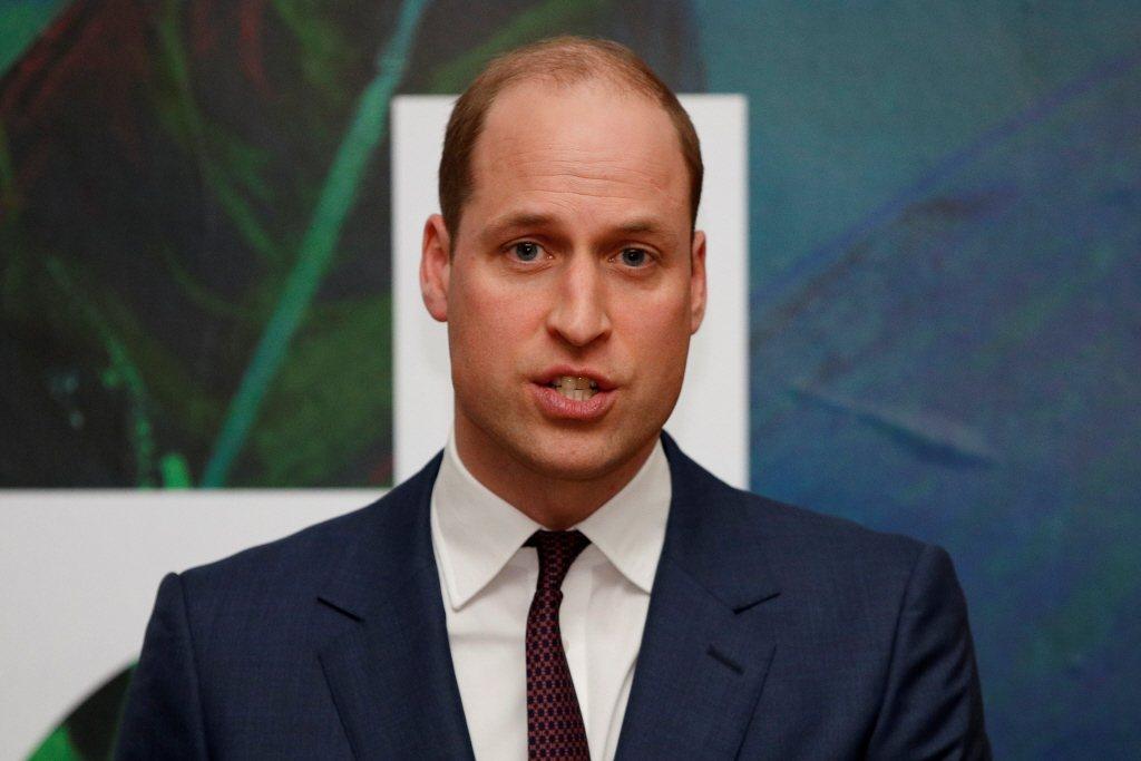 威廉王子以「未來英國國王」自居,不容許有人挑戰皇室。圖/路透資料照片