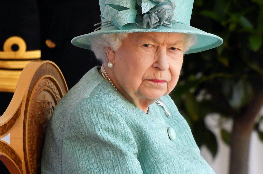 伊麗莎白二世女王被孫子、孫媳弄得很傷心。圖/路透資料照片