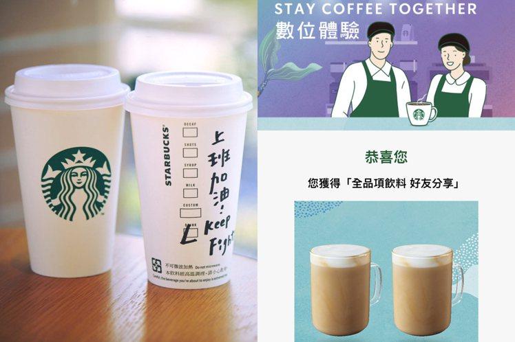 圖/擷取自 星巴克咖啡同好會(Starbucks Coffee)、數位體驗活動截...