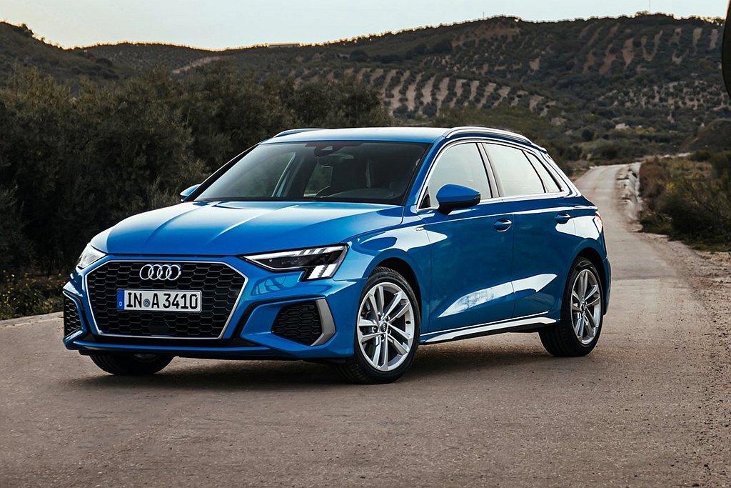台灣奧迪導入Audi A3 Sportback 30 TFSI及35 TFSI雙...