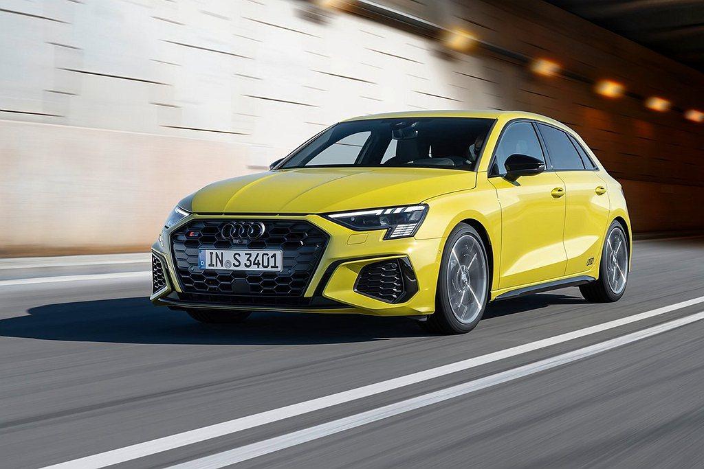 性能車型Audi S3 Sportback同步在台灣展開預售作業。 圖/Audi...