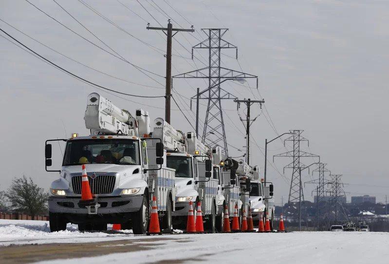 部分德州電力用戶見到電費帳單飆漲。 圖/歐新社