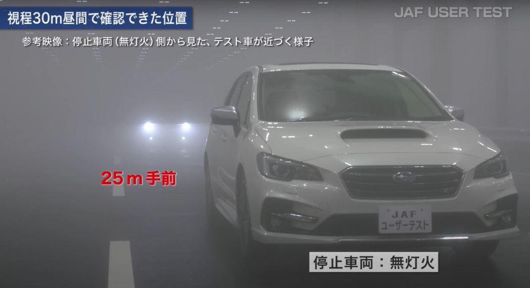 JAF在JARI(日本自動車研究所)的特殊環境試驗場進行測試。 摘自jaf.or...