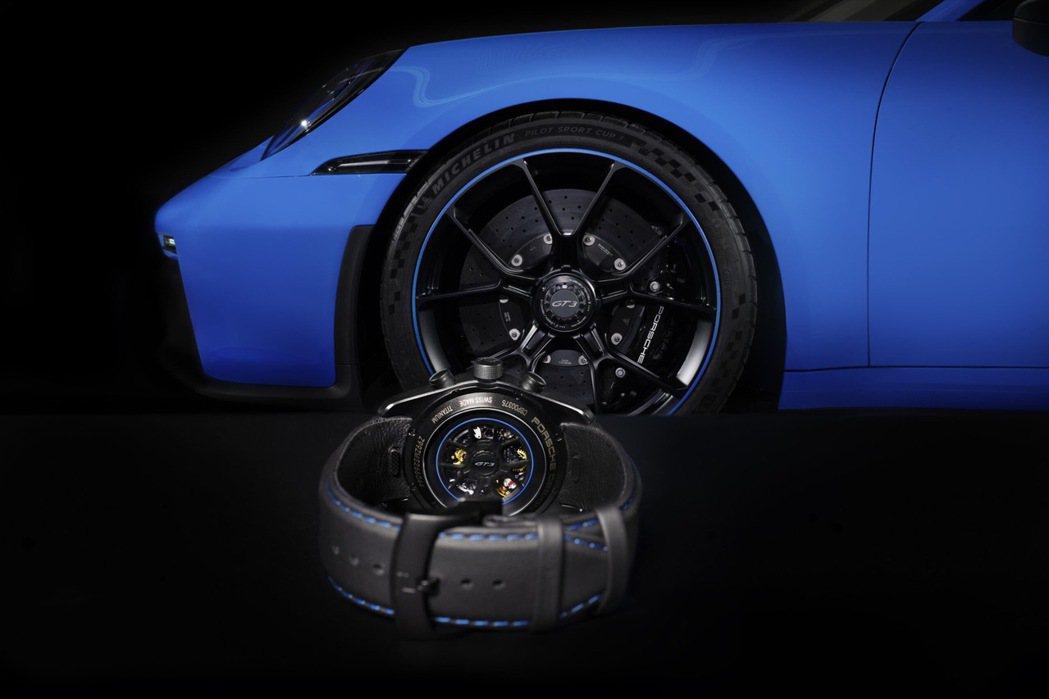 Porsche Design 911 GT3計時表。 圖/Porsche Des...