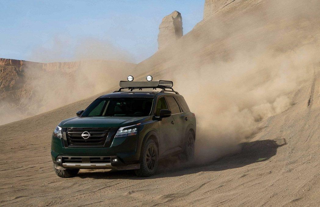 Pathfinder也配備了最新Nissan Safety Shield 360...