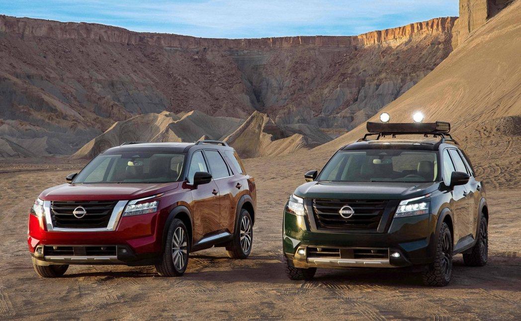 第五代Nissan Pathfinder。 圖/Nissan提供