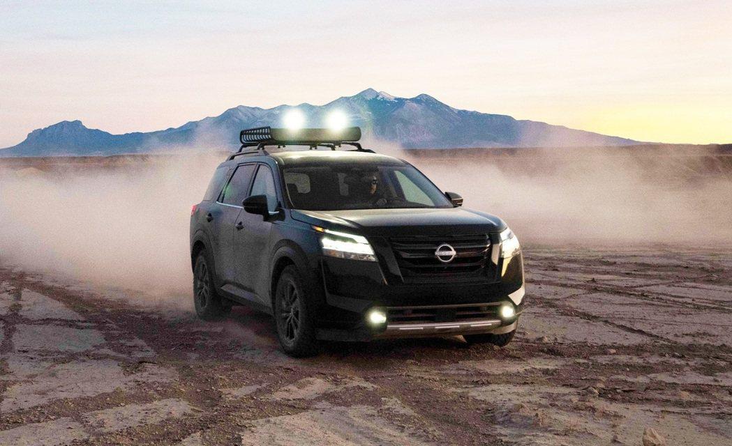 Nissan Pathfinder。 圖/提供