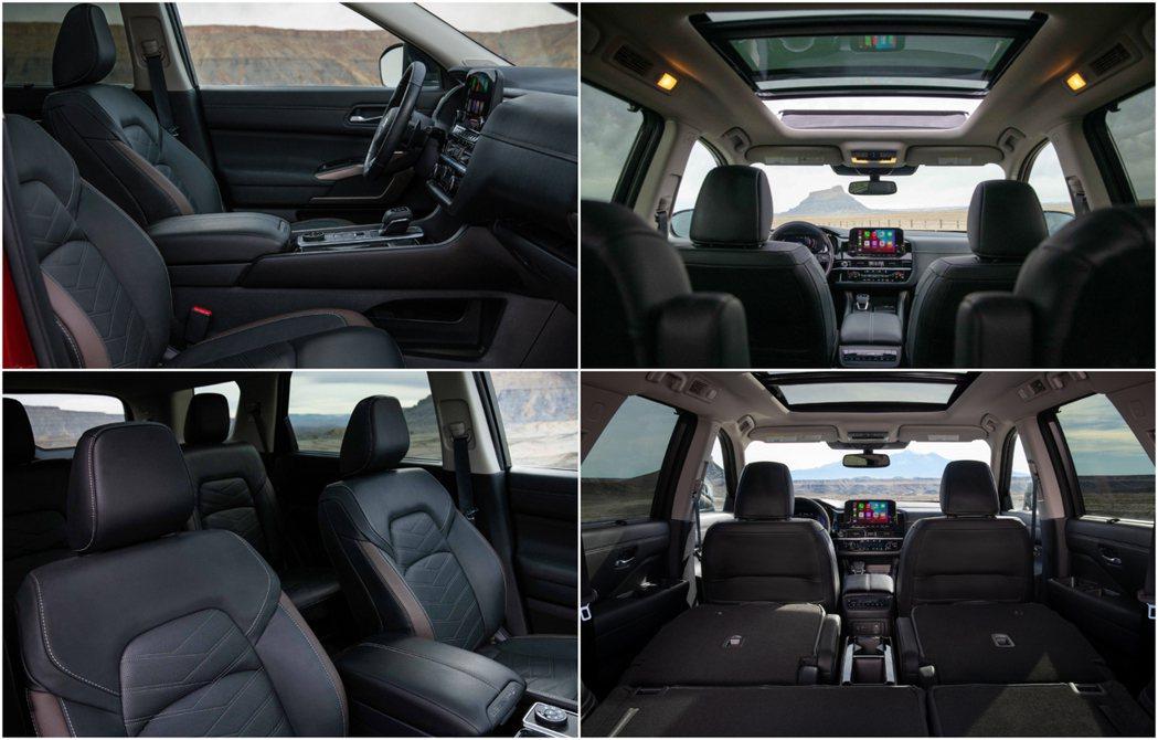靈活的空間運用以及舒適性是Pathfinder一大賣點。 圖/Nissan提供