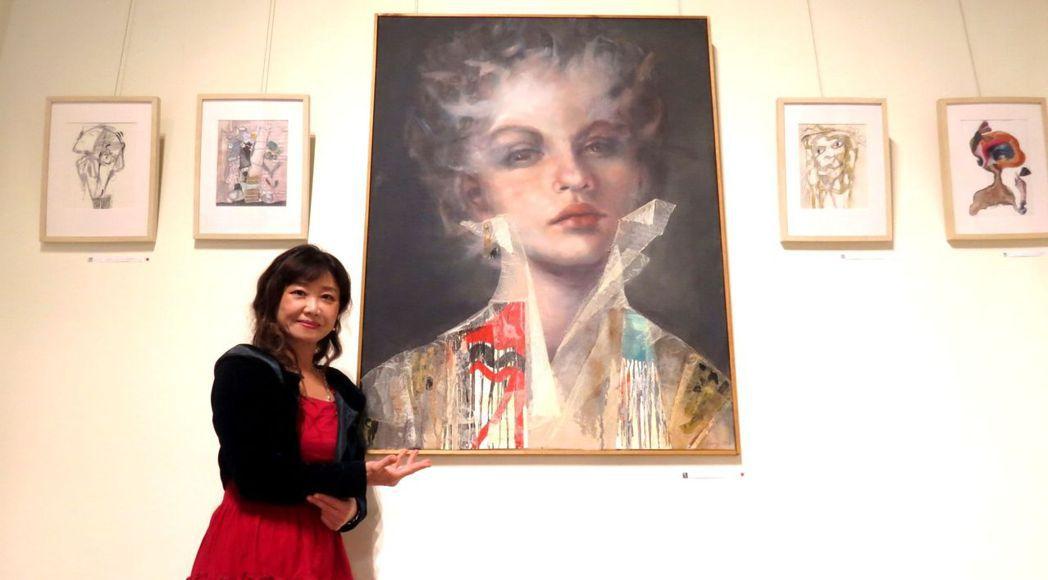 國際藝術策展人陳美芬博士介紹此次德國參展藝術家Romy的作品,其以人物為主軸,擁...