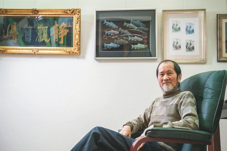 退休後走後的孫文雄,持續將凹版雕刻這項獨特的藝術發揚於民間。