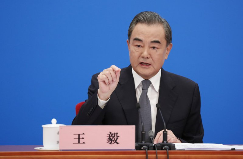 大陸國務委員兼外交部長王毅。(中新社)