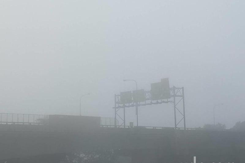 濃霧周!深夜到清晨留神