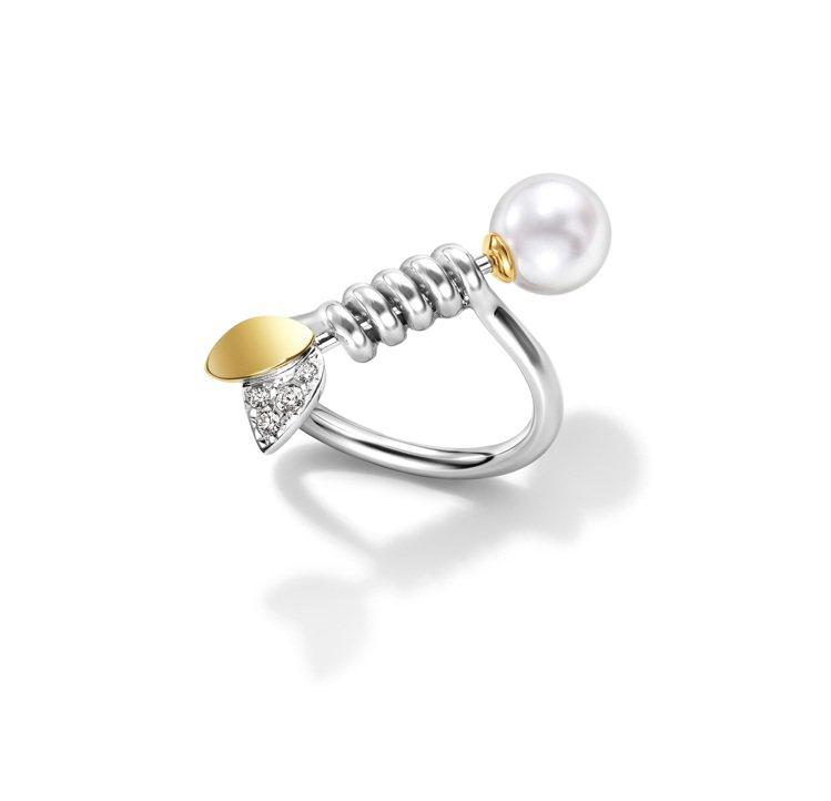 M/G TASAKI FLORET戒指,12萬4,000元。圖/TASAKI提供