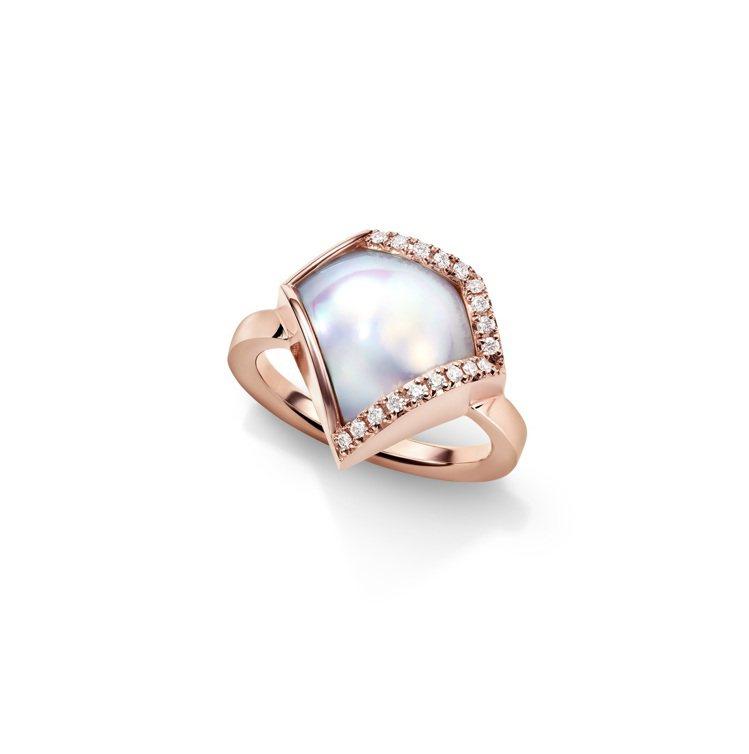 M/G TASAKI FACETED戒指,16萬1,000元。圖/TASAKI提...