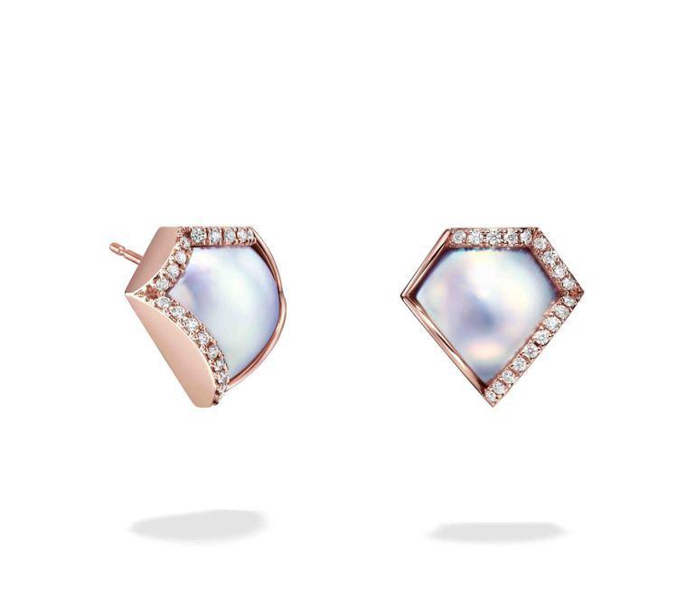 M/G TASAKI FACETED耳環,23萬5,000元。圖/TASAKI提...