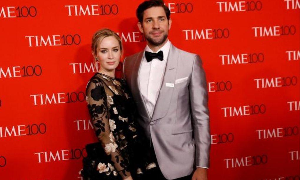 艾蜜莉布朗與約翰卡拉辛斯基夫妻是廣大漫威迷心目中「驚奇4超人」主角最佳人選。圖/...