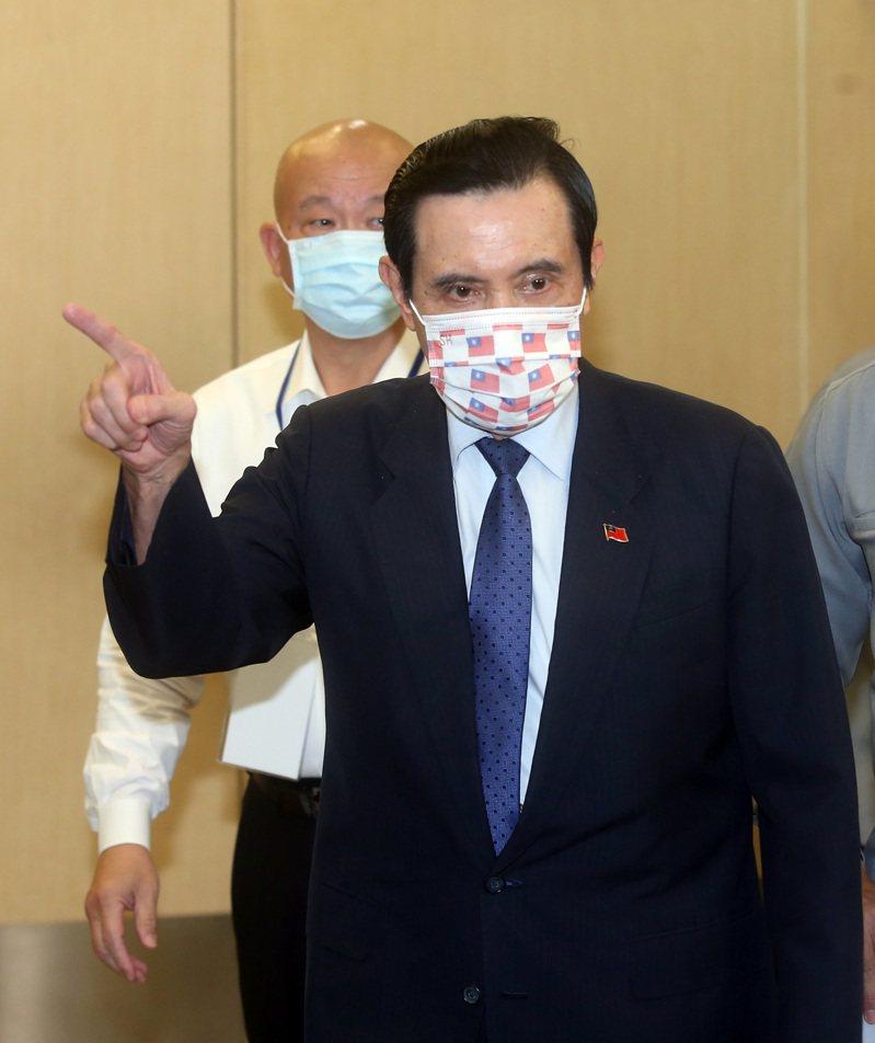 前總統馬英九。本報資料照片