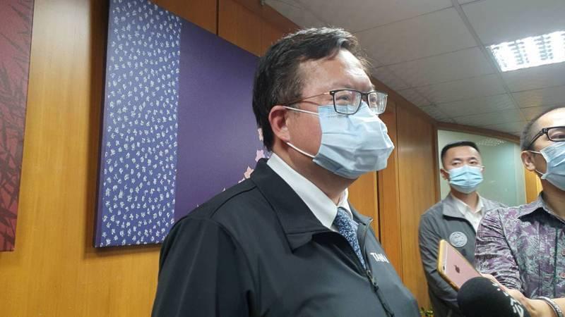 桃園市長鄭文燦談及今年桃園市的里長旅遊,他表示,還是會去澎湖跟金門,不會因為之前「避桃令」的炒作打壞感情。記者陳夢茹/攝影