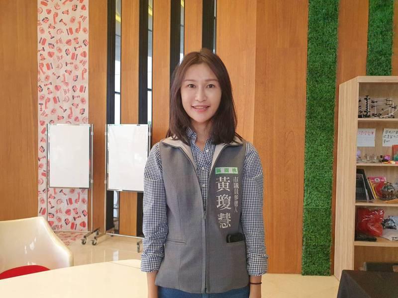 有PTT鄉民乳神之稱的黃瓊慧,昨天在臉書宣布要參選下屆桃園市議員選舉。記者陳夢茹/攝影
