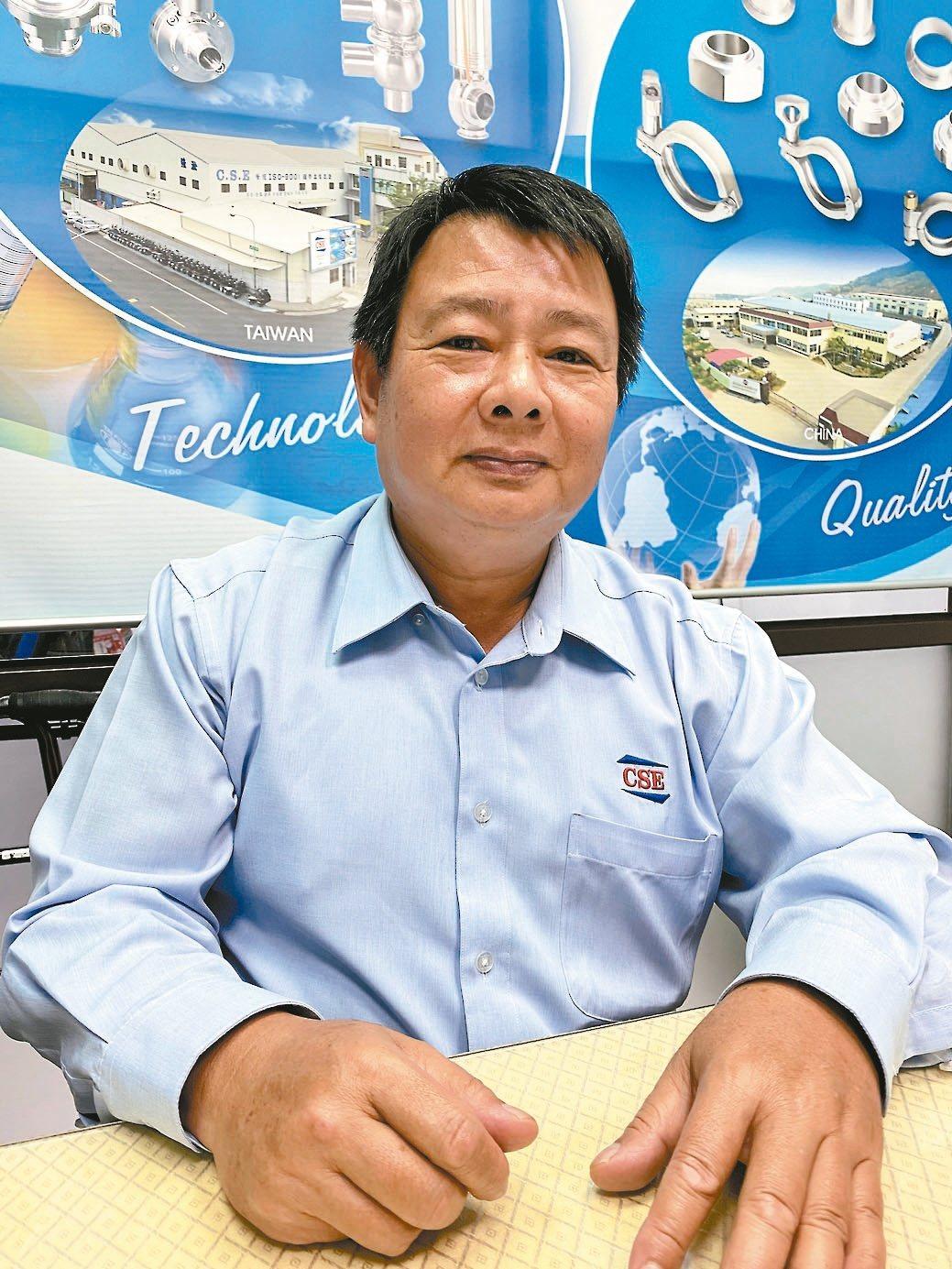 強淞集團董事長兼執行長許志吉。吳青常/攝影