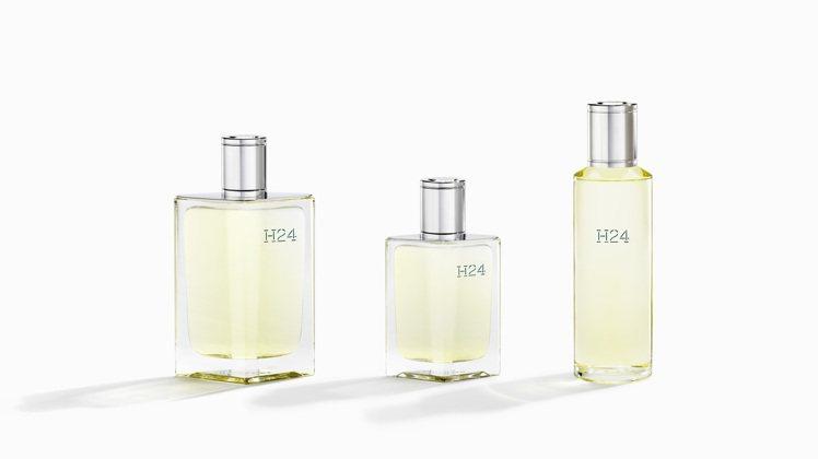 愛馬仕近日推出2021第一款香氛「H24淡香水」。圖/愛馬仕提供
