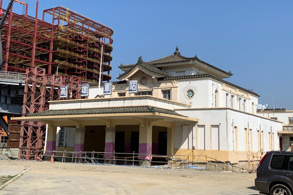 高雄帝冠式老車站 明年1月回家
