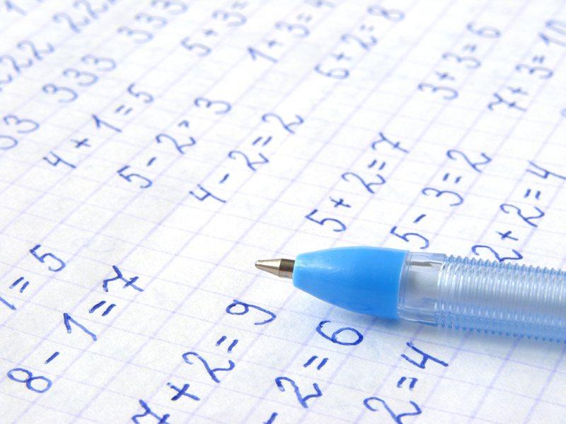 數學常成為學生逃避學習的科目。示意圖/ingimage授權