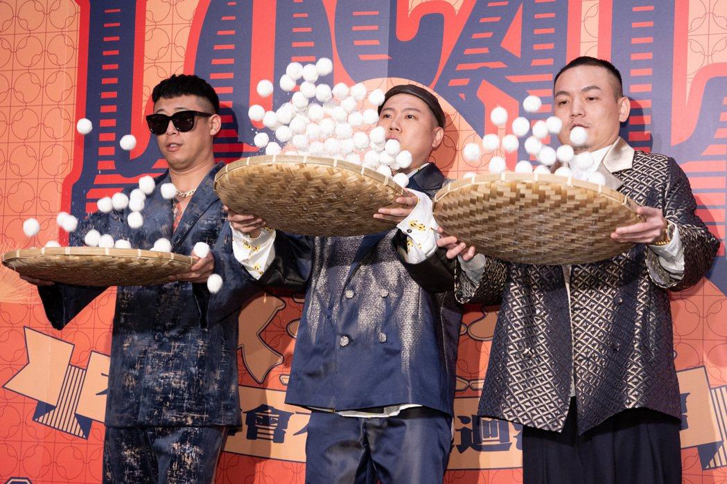 玖壹壹出席「LOCAL不確定會不會巡迴演唱會」啟售記者會。記者季相儒/攝影
