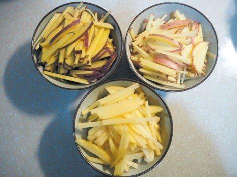 起司馬鈴薯煎餅材料。 圖/健行文化 提供