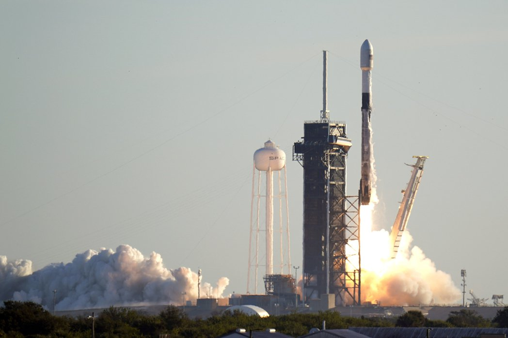 SpaceX的獵鷹九號(Falcon 9)已有多次成功發射紀錄。 圖/美聯社
