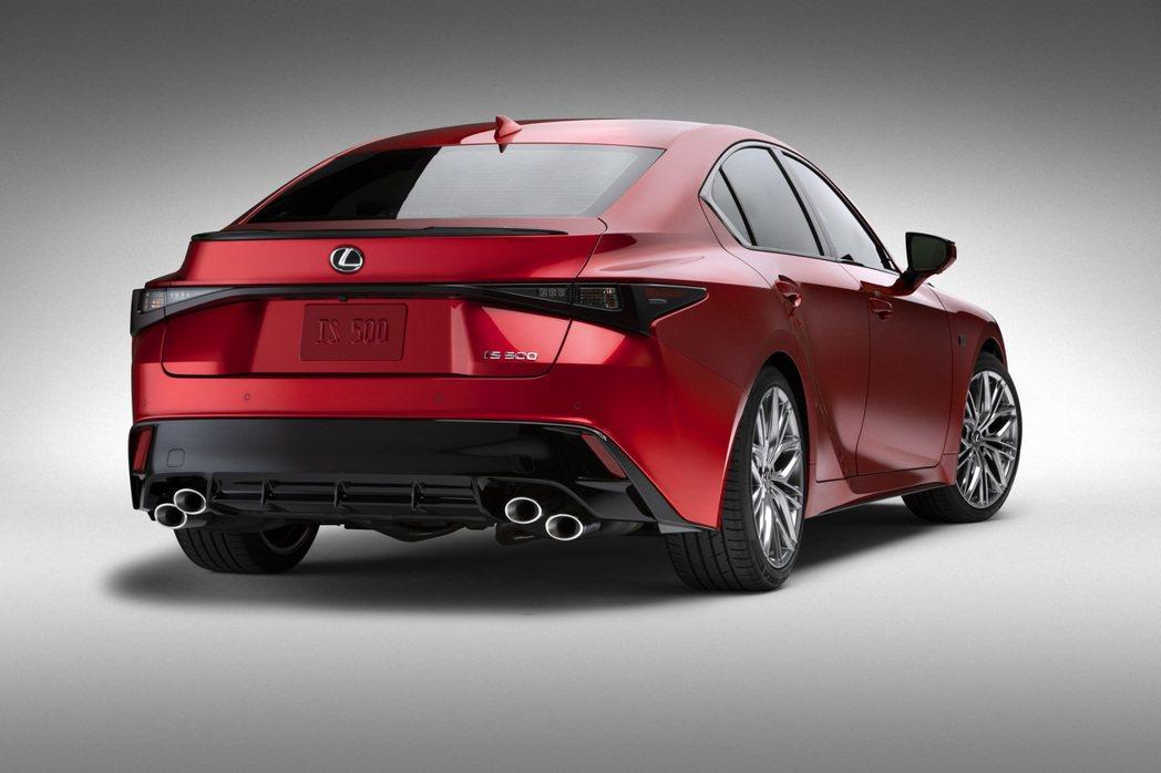 Lexus IS 500 F SPORT Performance。 圖/Lexu...
